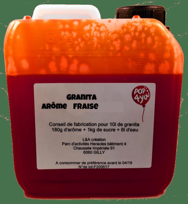 pop 4 you granita fraise